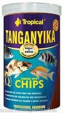 Tropical Tanganykia Chips Sinking 130g - Aussie Seller