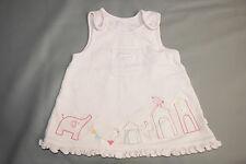 MARKS&SPENCER Kleid Gr 56 62 Mädchen Baby England UK rosa elefant bestickt