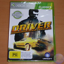 Driver: San Francisco for Xbox 360 (AUS PAL) NEW & SEALED