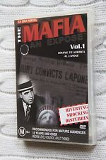 La Cos Nostra: The Mafia- An Expose, Vol.1-5 (DVD), R-4, LIKE NEW, FREE SHIPPING