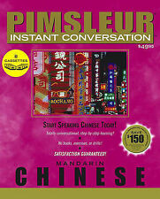 Chinese (Mandarin) by Pimsleur (Audio cassette, 2002)