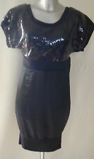 FUSE By PREEN Sequin Rib Dress UK Size  10 NEW TAGS