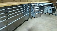 "mechanics tool chest, work bench. 72"" Stainless steel 12 year warranty!!!"
