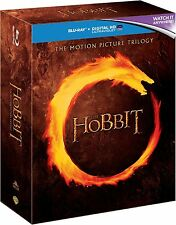 THE HOBBIT Complete Trilogy 1 2 3 Collection Boxset NEW BLU-RAY