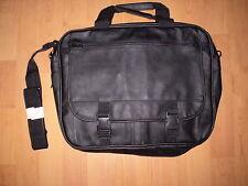 Aktentasche - auch für kleinere Notebooks, schwarz, synthetisches Leder