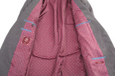 NEXT GREY HOUNDSTOOTH MEN'S SUIT 38L DRY-CLEANED