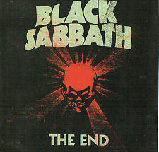 BLACK SABBATH - The end (8 Track Cd)