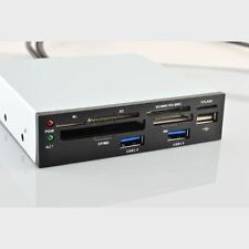 "3,5"" MULTIPANEL INTERN: 2 PORT USB 3.0 + 1 PORT USB 2.0 + KARTENLESER CARDREADER"