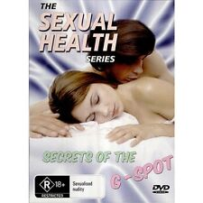 """Sexual Health Series: Secrets of the G Spot (DVD) New + Sealed FREE EXPRESS """"R"""""""