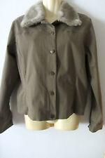 Laura Ashley beige jacket ,size L, AUS 10-12 excellent condition, NEW