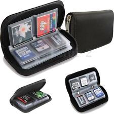 MICRO SD FLASH MEMORY CARD HOLDER SDHC MMC CF XD Storage Bag Case Cover Pouch