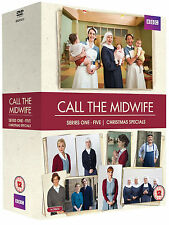 CALL THE MIDWIFE Complete Season Series 1 2 3 4 5 + Xmas Special Boxset NEW DVD