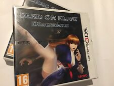 DEAD OR ALIVE DIMENSIONS (Nintendo 3DS) BRAND NEW SEALED UK