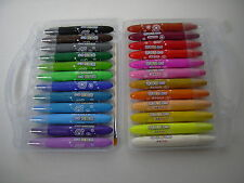 !!! NEU !!! 24 Farben Wachsmal-Aqua Stifte, wasservermalbar