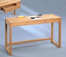 Schreibtisch Tisch Schminktisch Bürotisch Konsolentisch Lenz Kernbuche massiv