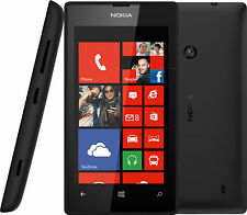 Telstra Nokia Lumia 520 Black 4'' Screen 5MP Camera Windows 8 Phone + Bonus