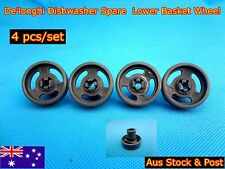 Delonghi Dishwasher Spare Parts Lower Basket Wheel Replacement Grey (C309) NEW