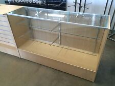 Maple 1200mm glass display retail shop counter !!!BRAND NEW!!! shop fittings