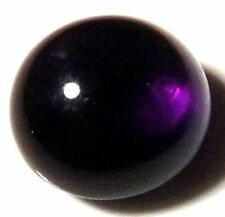 NATURAL TOP DEEP-PURPLE AMETHYST LOOSE GEMSTONE (5.3mm) ROUND CABOCHON-CUT