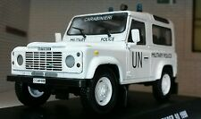 Land Rover Defender TD5 UN 90 Military Police 1:43 Scale Diecast Detailed Model