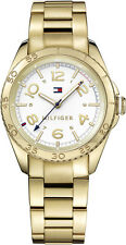 AUTHENTIC TOMMY HILFIGER WOMEN'S LIZZIE WATCH 1781638 GOLD PLATED BRAND NEW