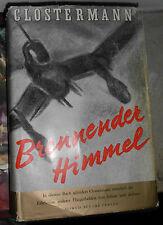 Pierre Clostermann: Brennender Himmel, 1952, Oln. gebunden illustriert