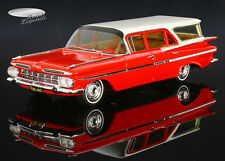 Chevrolet Impala Station Wagon 1959 rot/weiss / red/white Spark Model 1:43 %