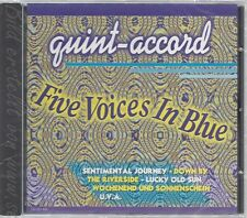 CD--QUINT ACCORD -1997- -- FIVE VOICES IN BLUE