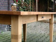 Tisch Esstisch Esszimmer Massivholz Küchentisch Landhaustisch 180 M01 natur Neu