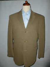 MENS  JAEGER BRITISH MADE WOOL AND COTTON BLEND  SUIT  -- SIZE UK 42