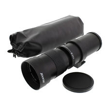 Albinar 420-800mm F/8.3-16 Super Telephoto Manual Zoom Lens for Canon EOS EF