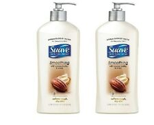 Suave Smoothing with Cocoa Butter & Shea Hand and Body Lotion, 36 fl oz