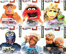 HOT WHEELS 1:64 POP CULTURE THE MUPPETS FULL SET OF 6