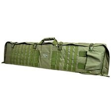 NcSTAR Tactical Military Rifle Case Range MOLLE PVC Shooting Mat Combo OD Green