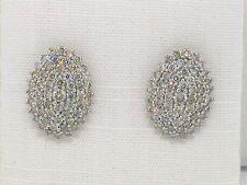 Rausverkauf!Diamant Brillant Ohrstecker 585 Weißgold 14Kt Gold 1,02ct Brillanten