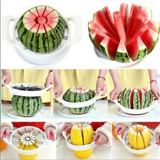 Fruit Watermelon Melon Cantaloupe Stainless Steel Cutter Slicer Kitchen Tool LG