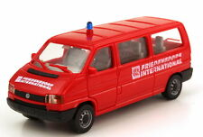 1:87 VW Volkswagen T4 Bus lang MTW rot Friedensdorf International AMW/AWM 9313