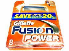 Gillette Fusion Power Blades 48 (6x8pk) Genuine (BNIB)