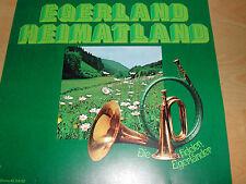 Schallplatte Vinyl ### Egerland Heimatland ### Die fidelen Egerländer