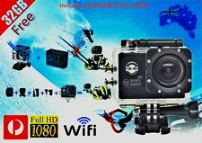 Include 32GB Card WiFi Waterproof Sports Action Video Camera 1080p FULL HD