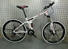 "Pedalease Fusion 26""wheel Folding Mountain Bike 2016 model; mag wheels magnesium"