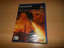 REIGN OF FIRE  - PAL FOR  SONY  PS2 BRAND NEW & SEALED