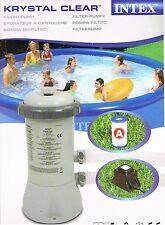 Intex Filterpumpe 28604GS mit Trafo 12 V für Pool 244, 305 und 366 cm
