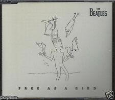 THE BEATLES - FREE AS A BIRD 1995 CD SINGLE JEFF LYNNE'S ELO JOHN LENNON APPLE