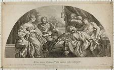 Lambert Visscher um1680: Antiochus + Stratonice. Pietro da Cortona Palazzo Pitti