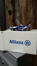 Hot Wheels Williams F1 BMW Race Team Original Werbemodell von Alianz