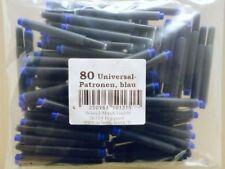 80 Universalpatronen Tintenpatrone geeignet f Lamy Pelikan Herlitz Tinte Patrone