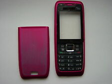 NOKIA 3 PARTS COVER CASE FOR E51 RED FRONT & BACK & KEYPAD