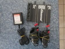 Carrera Slot Car Connector track, power supply & 2 Controllers - 1/43 scale