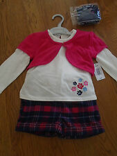 BNWT girls 4 - piece outfit. Shorts/top/cardi/tights. Matalan. Age 2-3 yrs
